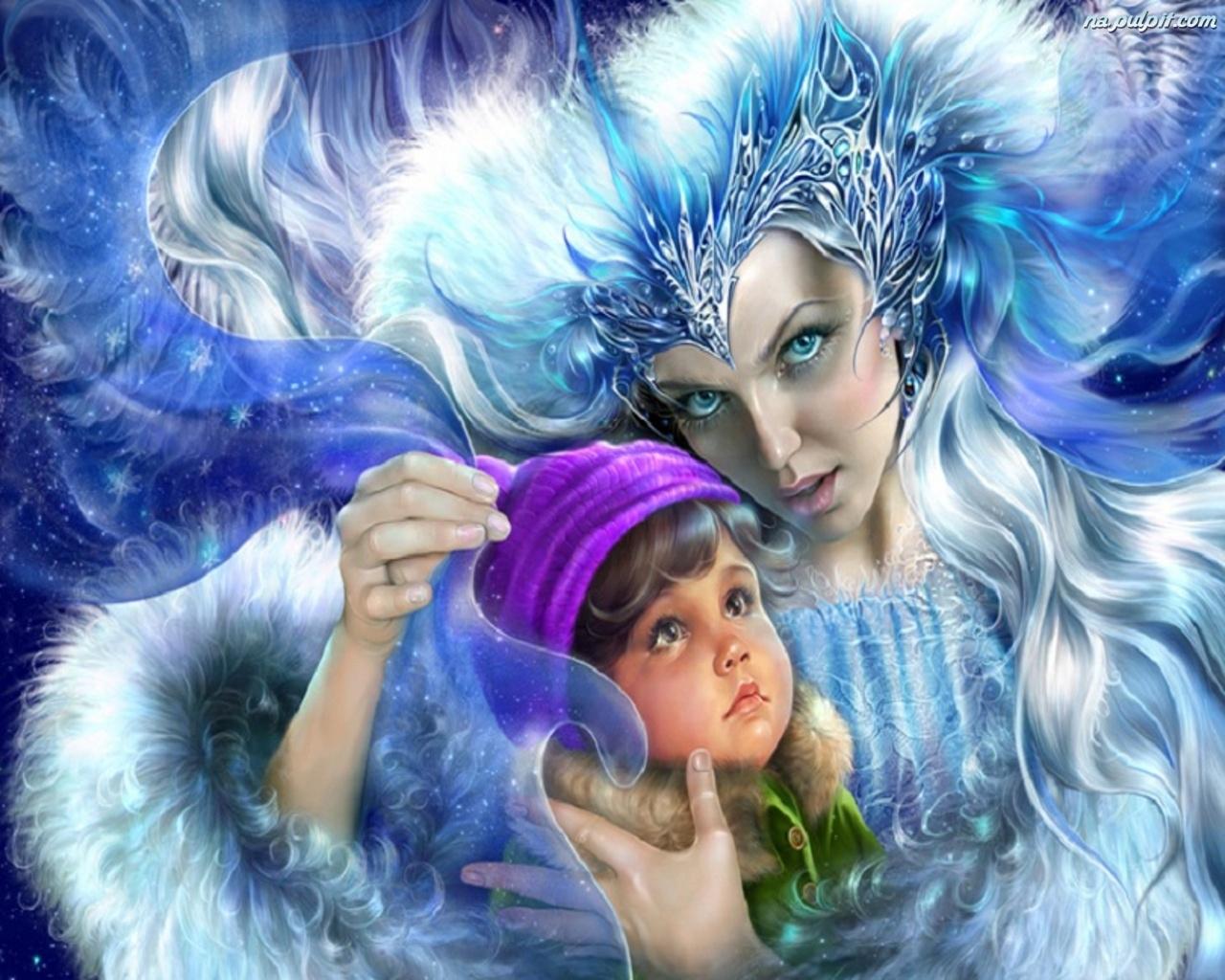 Чертогах Снежной королевы и что случилось потом (последняя часть сказк…